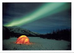 Alaska Northern Lights! I would love to see this just once before I die!