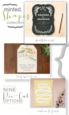 Gorgeous @Minted stationery + a Giveaway!