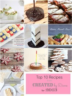 Top 10 Recipes from Created by Diane for 2014