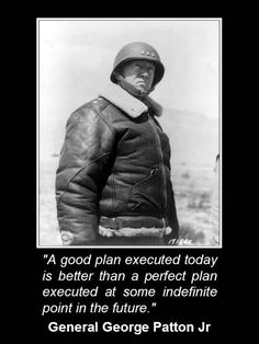 Patton...a solid soldier...a hero