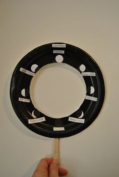 Our Moon Phases view finder...now all we need is the moon!!