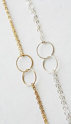 Quick and easy dainty layering bracelet