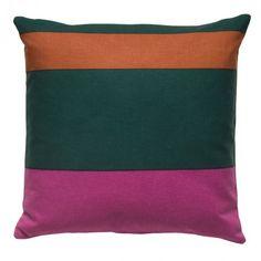 Maritime Fuchsia Square Throw Pillow