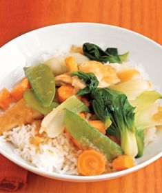Cantonese Chicken With Vegetables recipe from realsimple.com #myplate #protein #vegetables