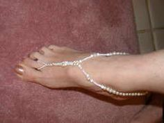 craft, footwear idea, foot thong, barefoot sandl, barefoot sandal, jewelri, diy, footthong instruct, beach footwear