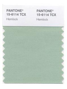 Green sage hemlock on pinterest pantone mint green and Sage green pantone