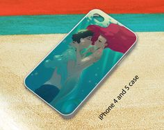 Ariel Kiss The Girl iPhone 4 iPhone 5 Samsung S3 S4 Cases on Etsy, $15.00