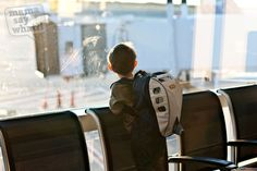 Flying with Toddlers - Security