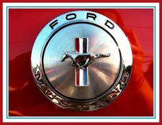 1966 Mustang Gas Cap