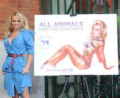 Pamela Anderson: PETA hottie