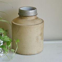 Antique Stoneware Fruit Jar or Crock.