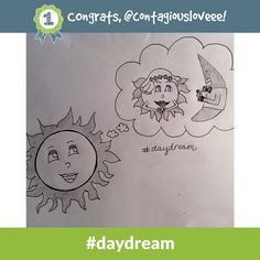 Congrats to @contagiousloveee - the #daydream Daily Doodle Challenge winner of 500 SB for 9.15.14!