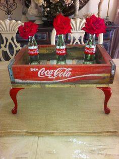 Vintage Coca cola wood crate by MerishcasVintage on Etsy, $125.00