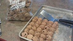 The Quick & The Hungry: Freezing Cookie Dough in Portion Sizes