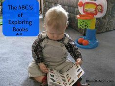 This is the first in a series of three on how to explore and extend concepts you have read with your child in books.     This post focuses on activities that begin with A-H.
