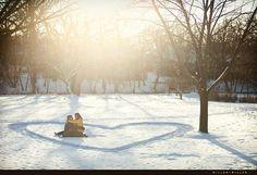 adorable winter picture idea