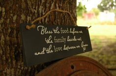 foods, etsi find, daph quot, bless, wood signs, decor find, families