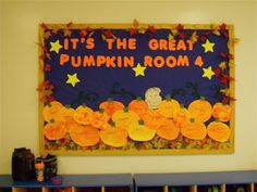October Bulletin Board preschool