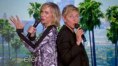 Kristen Wiig and Ellen DeGeneres sing 'Let It Go' — or try to, anyway