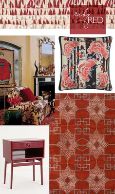Hue: Ruby Red - cloth & kind
