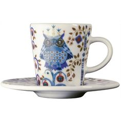cute hand painted espresso cup