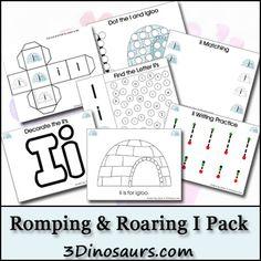 Romping & Roaring I Pack - 3Dinosaurs.com