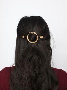 Artemis hair pin by AlmanacForJune on Etsy, $95.00