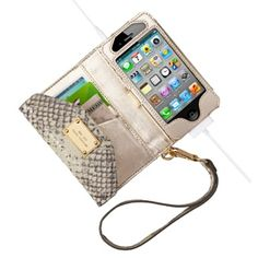Michael Kors Wallet Clutch for iPhone... need this!