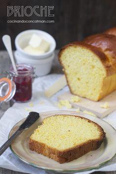 Brioche bread - Pan de Brioche