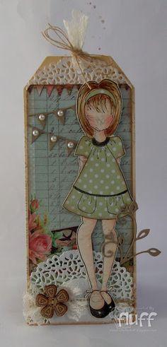 My Mum's Craft Shop: Prima Dolls mum craft, doll tag, doll stamp, juli nut, craft shop, prima dolls, card, crafts, paper doll