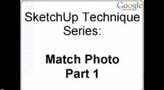 Video Tutorials   SketchUp