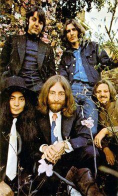 The Beatles and Yoko