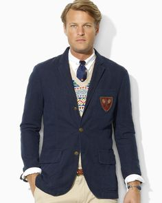 Love this: Langley Organic Chino Crested blazer @Lyst