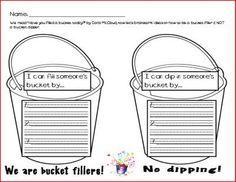 bucket filling brainstorming