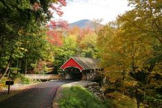 The covered bridges that span many of New England's rivers and streams hold a special place in the hearts of our foliage photographers Slide Show   Covered Bridges of New England - Yankee Foliage