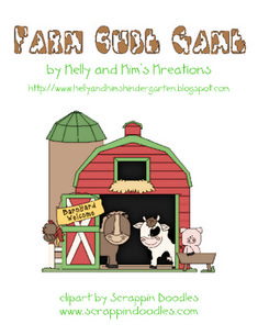 Farm Math Cube Game and Graph Lesson