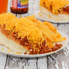 Skyline Cheese Coney {Cincinnati Chili}