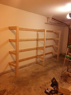 diy garage shelving, garage shelves diy, storage shelves, christmas decorations, basement, garage storage, garag shelv, storage ideas, diy garage shelves