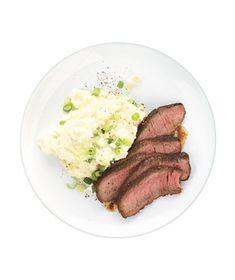 Steak With Potato-Parsnip Mash Recipe