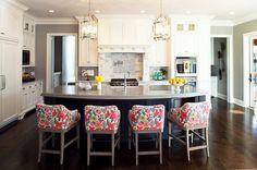 transitional kitchen by Martha O'Hara Interiors