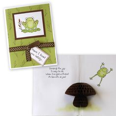 Inky Antics   Could use HOppy frog SU set for front lift