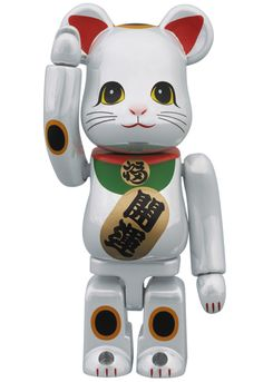 Medicom Toy's version of a Beanie Baby Lucky Cat