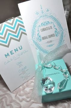 Tiffany & Co. themed Bridal Shower