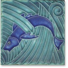 4x4 Fish Tile