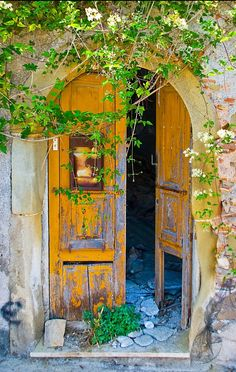 Forza d'Agrò, Sicily, Italy door