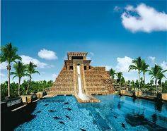 Atlantis..... Leap Of Faith Slide. CHECK