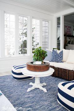 Lake House Sunroom -