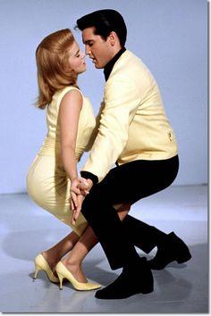 Ann Margret + Elvis Presley