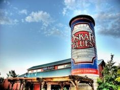 Oskar Blues Liquids and Solids in Longmont, Colorado.  Great southern inspired food, world class craft beers and live music.  Does it get any better on the Colorado Beer Trail?