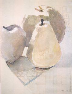 Joe Brainard - Pears and Apples - 1974